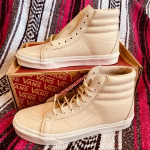 Vans SK8 Hi Reissue DX Leather Whisper Pink Gold